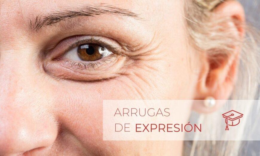 Las arrugas de expresión aparecen con la edad y están condicionadas por factores como la alimentación y el estilo de vida