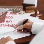 El derecho sucesorio regula la transmisión del patrimonio del difunto o causante a sus herederos