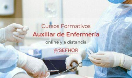 Estudiar enfermería a distancia en la escuela Sefhor