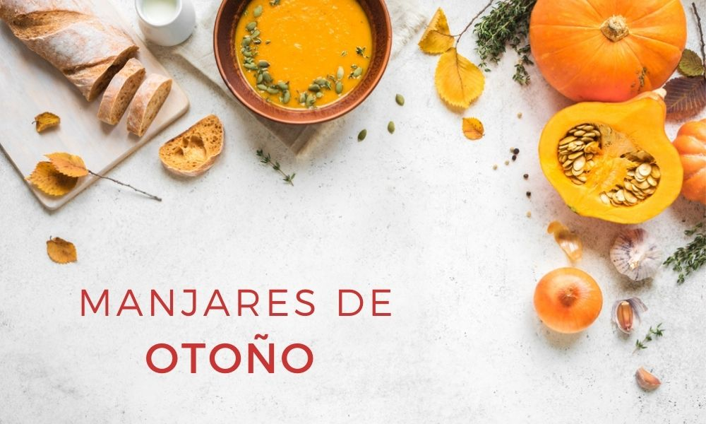 Manjares de otoño para disfrutar de la comida