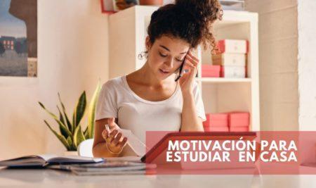 Cómo conseguir motivación para estudiar en cuarentena