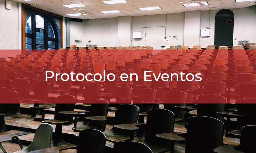 Guía de protocolo en eventos