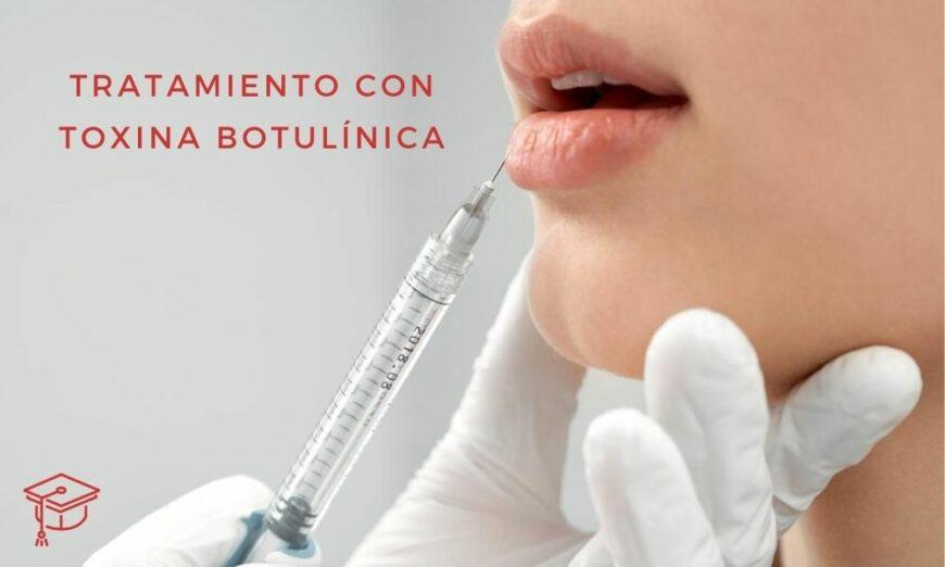 La toxina botulínica también se conoce como bótox