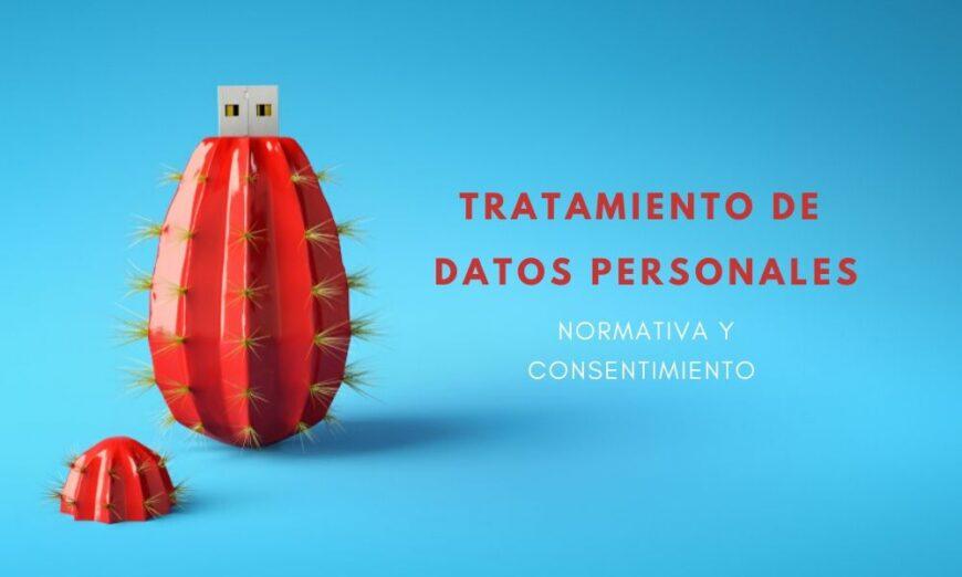 Tratamiento de datos personales